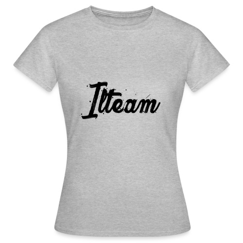 Ilteam Black and White - T-shirt Femme