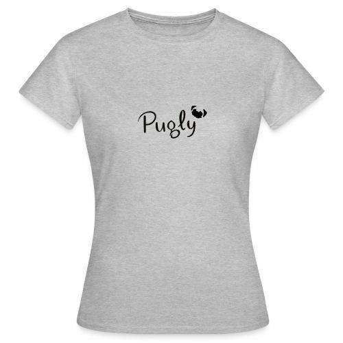 Pugly Logo - T-shirt dam