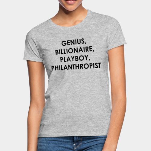 Genius Billionaire Black - Women's T-Shirt