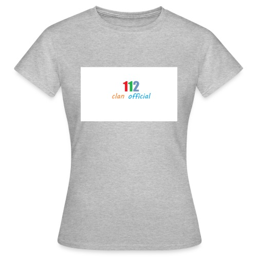 112 oFfIcIaL MERCH - Dame-T-shirt
