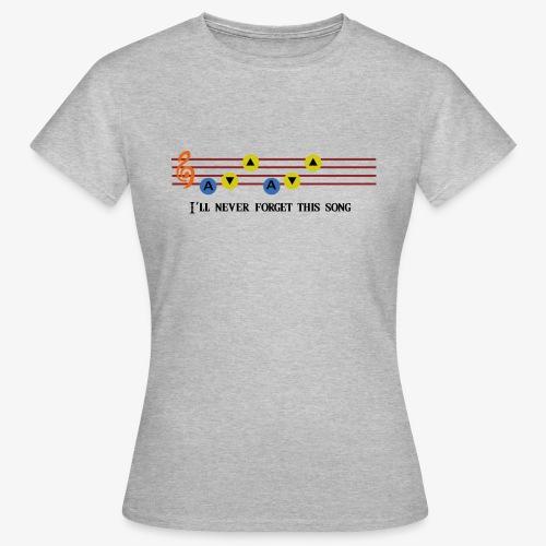 Ocarina Song - T-shirt Femme
