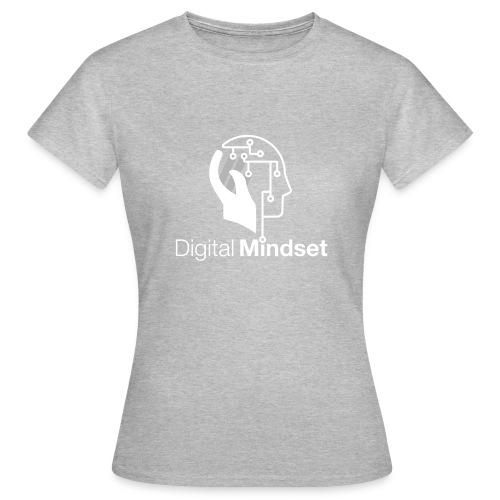Digital Mindset Logo Weiß - Frauen T-Shirt