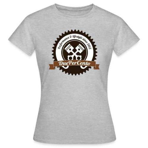 DuePerCento Logo Color - Maglietta da donna