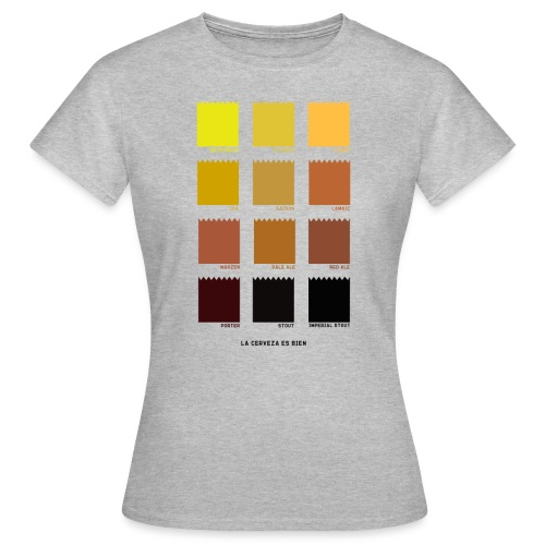 BEER COLOR - Camiseta mujer