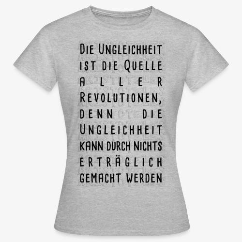 Ungleichheit - Frauen T-Shirt