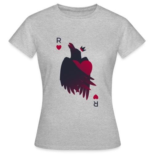 Raven Heart - Crow King - T-shirt Femme