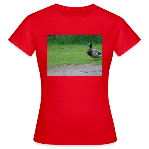 A wild duck - Women's T-Shirt