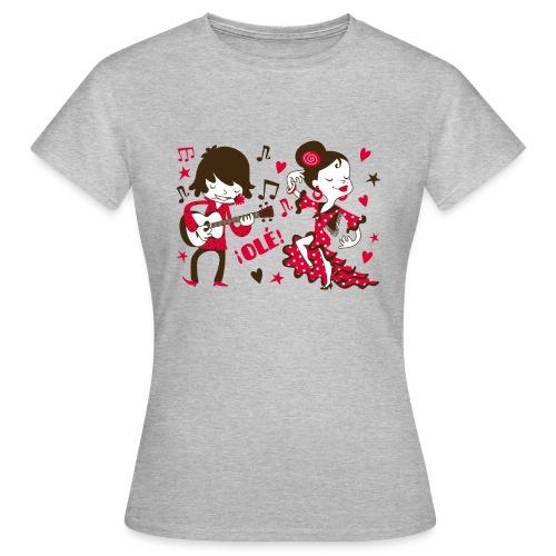 GITANILLOS - Camiseta mujer