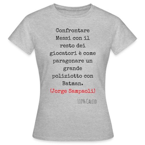 maglia 110 messi png - Maglietta da donna