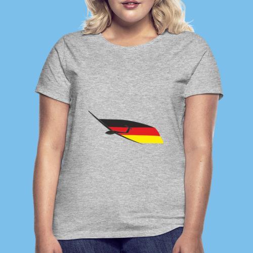 deutschlandflagge segelflugzeug Segelflieger - Frauen T-Shirt