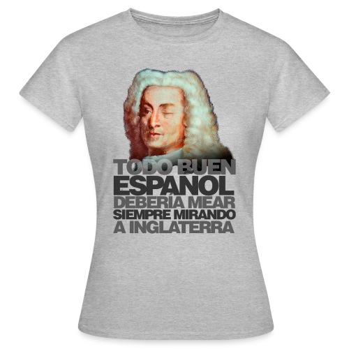 Blas de Lezo (Frase) - Camiseta mujer