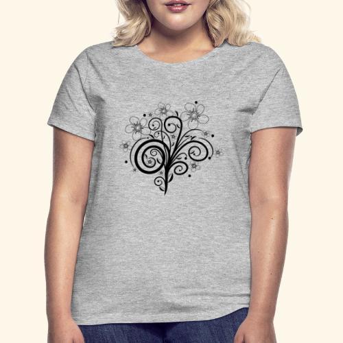 Blumenranke, Blumen, Blüten, floral, Ornamente - Frauen T-Shirt