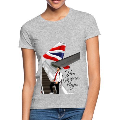 Vive sueña viaja by Viaja con Yoel - Camiseta mujer