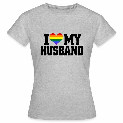 I Heart My Husband - Women's T-Shirt