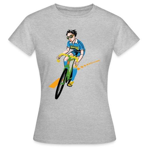 The Bicycle Girl - Frauen T-Shirt