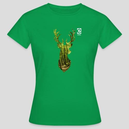 Eifel-Hirsch - weiß - Frauen T-Shirt