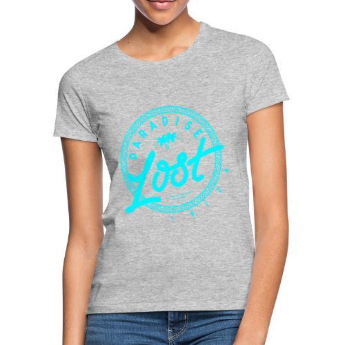 Paradise Lost Ibiza - Acid Blue Logo - Women's T-Shirt