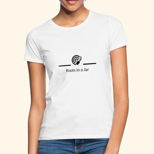 Roots in a jar logo - T-shirt dam