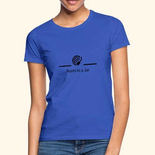 Roots in a jar logo - T-shirt dam