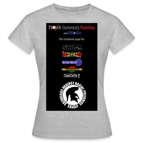 logo stack copy jpg - Women's T-Shirt