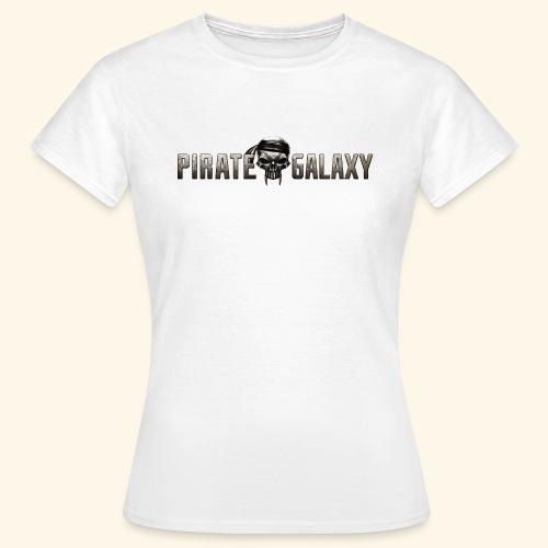 Pirate Galaxy Logo New - Women's T-Shirt