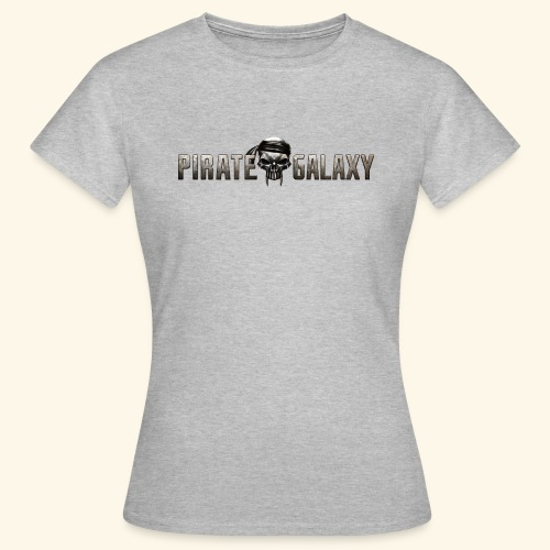 Pirate Galaxy Logo New - Frauen T-Shirt