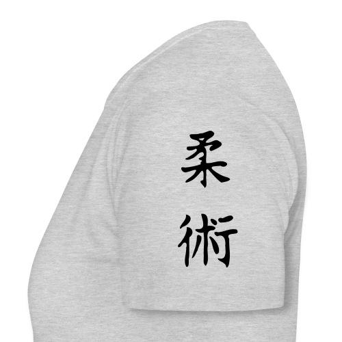 jiu-jitsu på japansk og logo - Dame-T-shirt