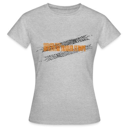 ADVENTURE TRAILER ON TRACK - Vrouwen T-shirt