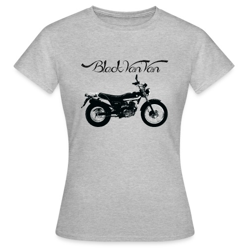 Black Van Van - Women's T-Shirt