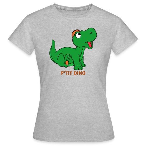 P'tit Dino Vert - T-shirt Femme