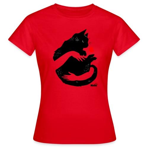 Halaus musta - Naisten t-paita