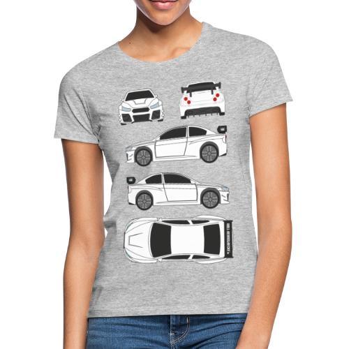 DR!FT Scetch - Frauen T-Shirt