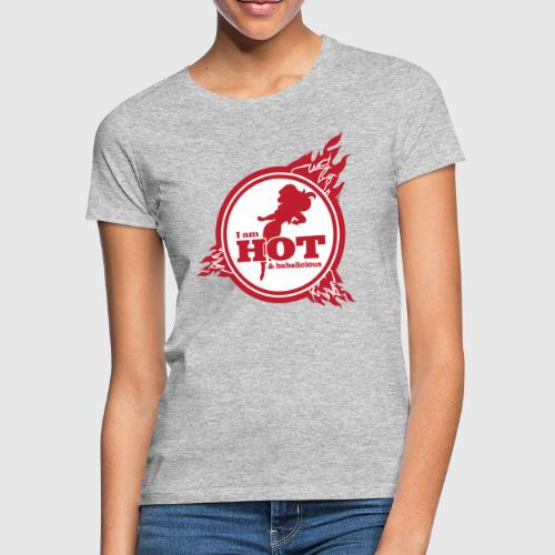 hot png - Dame-T-shirt