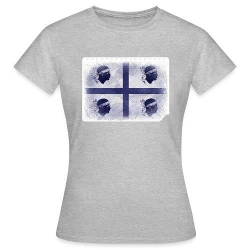 Quattro Mori penna - Maglietta da donna