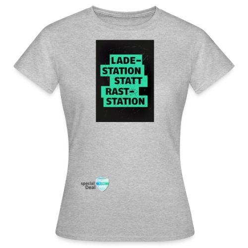 E-Bike WM 2019 Botschafter LADESTATION - Frauen T-Shirt