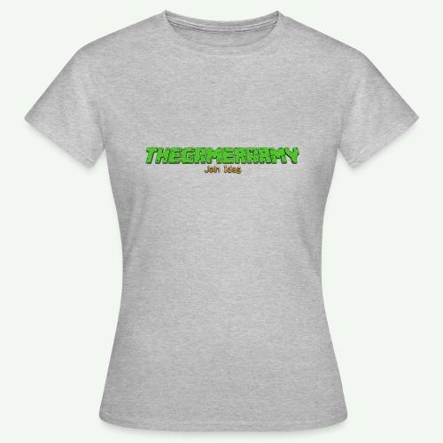 TheGamerArmy Join Idag - Dame-T-shirt