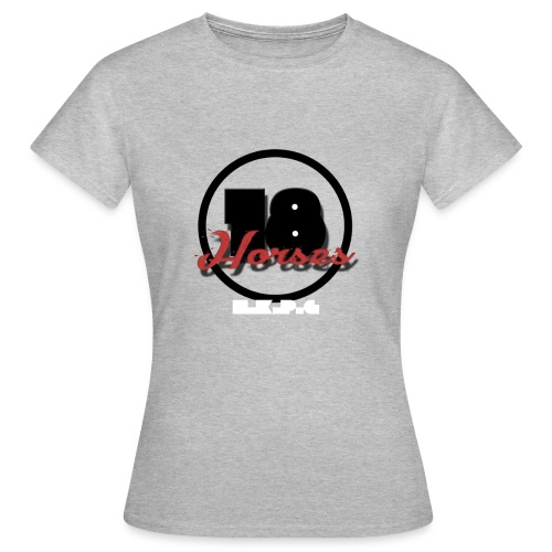 18 Horses - NKPG (White) - T-shirt dam