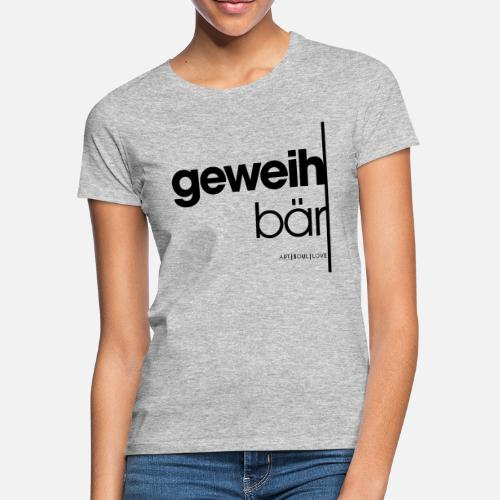 geweihbär 2019 - Frauen T-Shirt