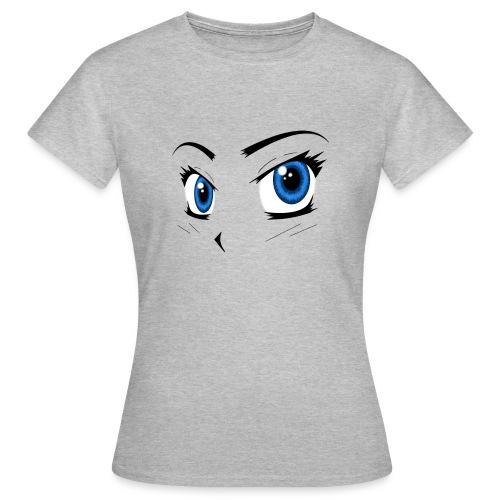 Manga Eyes - Women's T-Shirt