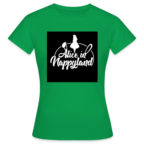 Alice in Nappyland TypographyWhite 1080 - Women's T-Shirt