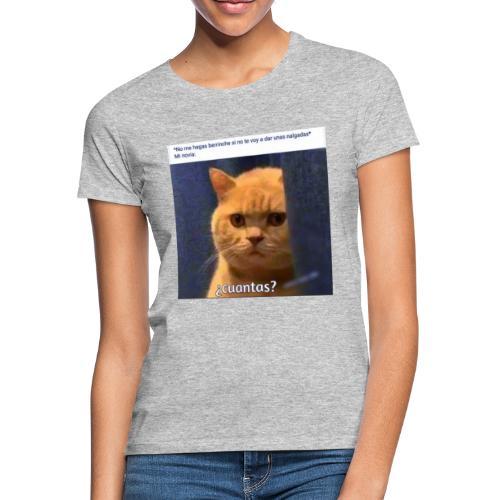 Cat nalgadas - Camiseta mujer