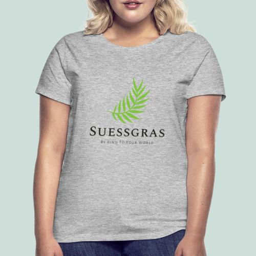 SUESSGRAS GREEN LEAF - Frauen T-Shirt