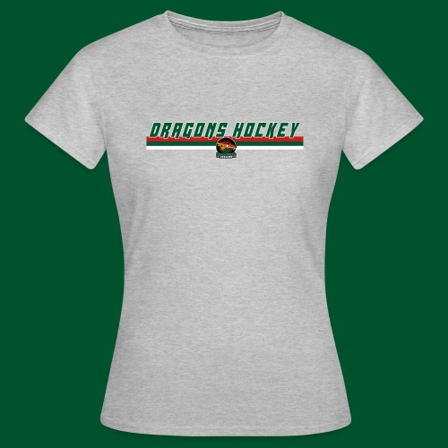Dragons Hockey - 1 Line - Green - Frauen T-Shirt