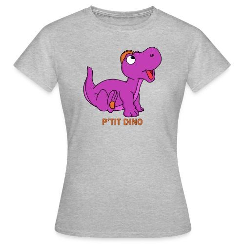 P'tit Dino Violet - T-shirt Femme