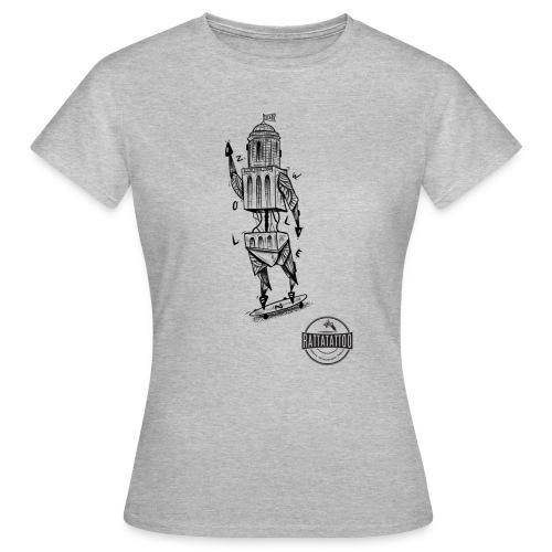 ZWOLLE 038 rattatattoo zwolle perperbus - Vrouwen T-shirt