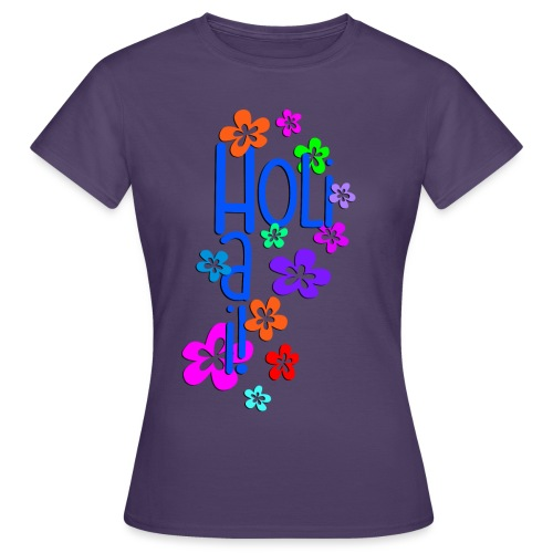 HOLI HAI FLOWERS 1 - Frauen T-Shirt