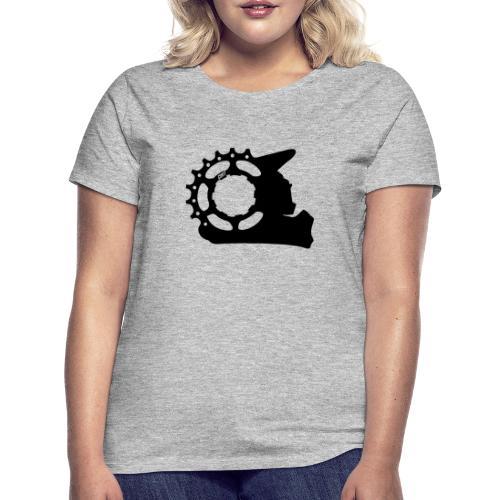 Black & White - Cunt - Frauen T-Shirt