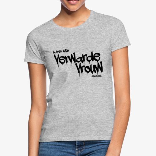 verwarde vrouw - Vrouwen T-shirt