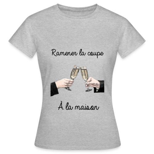 Ramener la coupe à la maison - T-shirt Femme