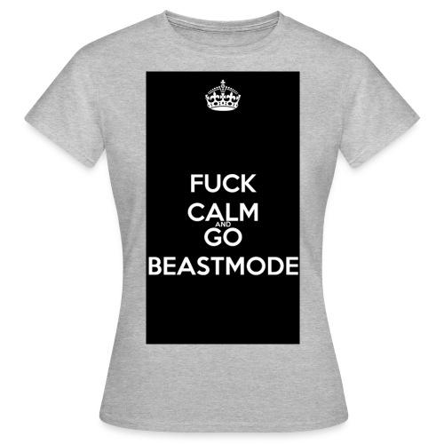 Go Beast-Mode - Women's T-Shirt